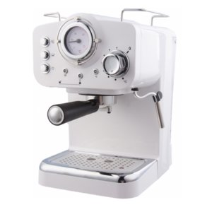 Кафемашина Arielli KM-501W, Мощност 1100 W, 15 бара, Бяла